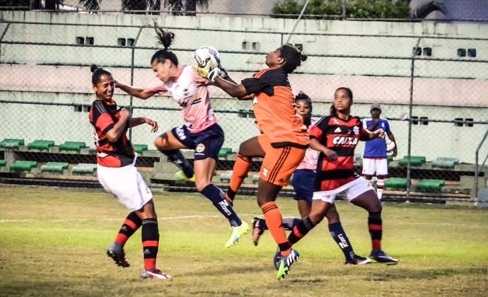 Flamengo futebol feminino x São José Brasileiro Feminino (Foto: Arthur Filho/São José Futebol Feminino)