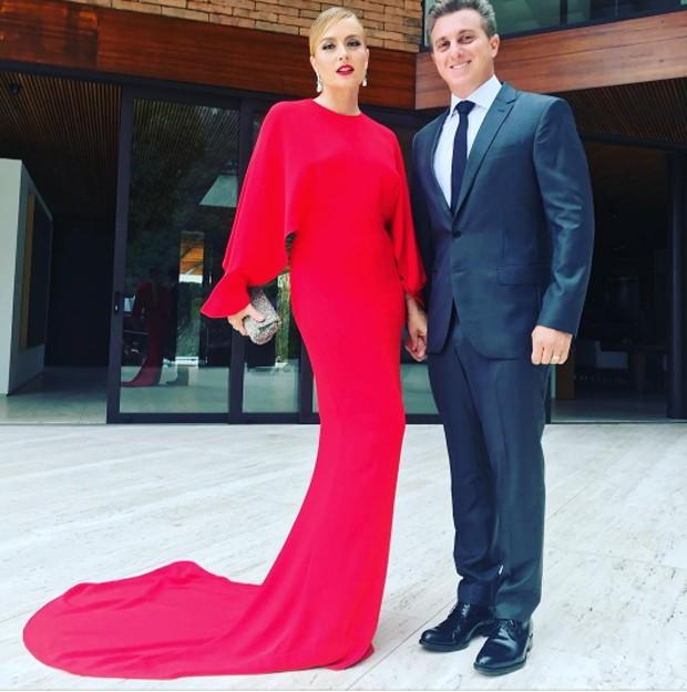 Angelica e Luciano Huck (Foto: Reprodução / Instagram)