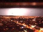 Mais de 100 raios são registrados durante tempestade em Ribeirão Preto