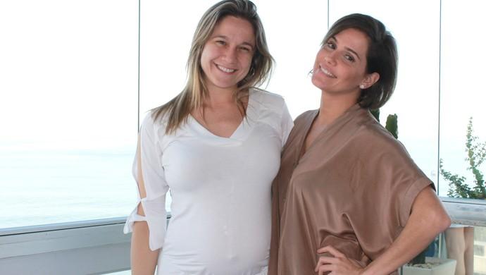 Fernanda Gentil e Deborah Secco euatleta (Foto: Igor Christ/Eu Atleta)