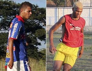 Silas e Jeferson - Copa Piauí (Foto: GLOBOESPORTE.COM)