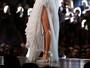 Solange Knowles, irmã de Beyoncé, ousa com superfenda no Grammy