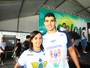 Victor Colonese e Mabília Felício vencem no Santista de Águas Abertas