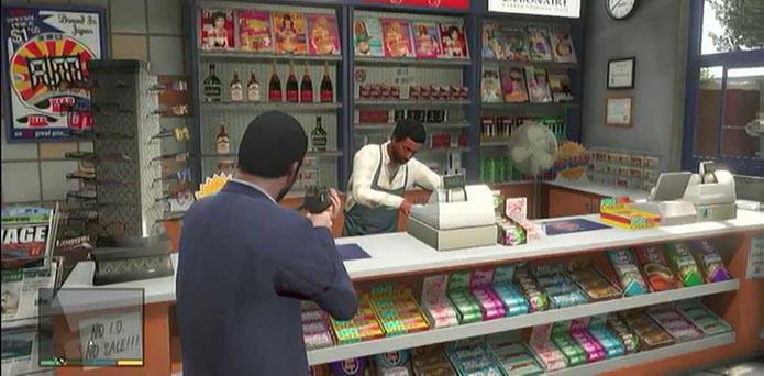 Atendentes reconhecerão ladrões de lojas (Foto: Reprodução/YouTube)