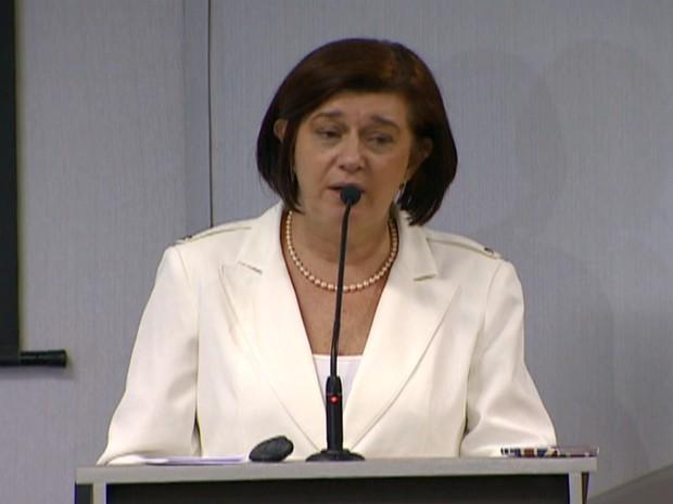 Magda Chambriard, diretora-geral da ANP (GloboNews) (Foto: Reprodução Globo News)