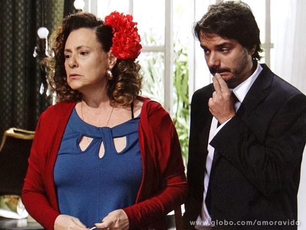 Márcia conhece Gigi de onde, afinal? (Foto: Amor à Vida/ TV Globo)