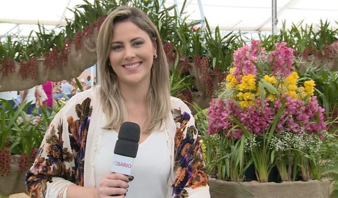 'Mais Diário' deste sábado (24) entrou no clima da primavera  (Foto: Reprodução / TV Diário )