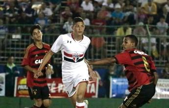 São Paulo e Coritiba disputam título da Copa Brasil de Futebol Infantil