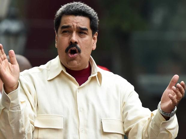 Presidente da Venezuela, Nicolas Maduro (Foto: Juan Barreto / AFP Photo)