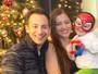 Nana Gouvêa mostra fotos de seu Natal em Nova York
