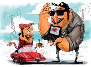 Rastreadores de veículos serão obrigatórios a partir de 2016 (Foto: Autoesporte)
