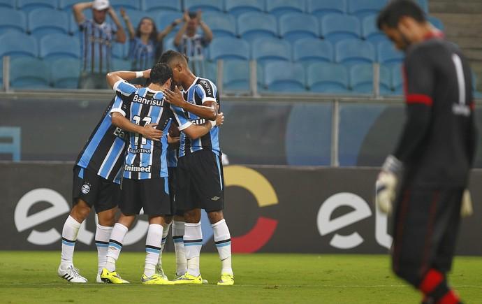 grêmio campinense gol douglas arena (Foto: Lucas Uebel/Grêmio FBPA)