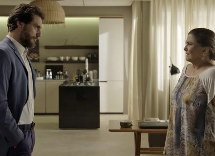 Caio oferece casa para família de Bibi morar de graça