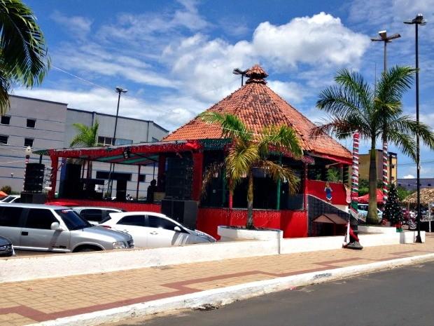 Centro de Cruzeiro do SUl  (Foto: Genival Moura/G1)
