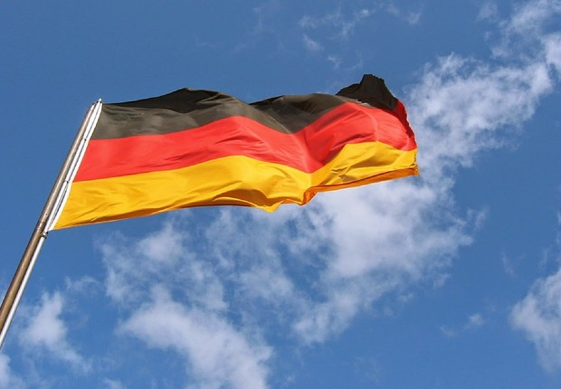 Bandeira da Alemanha (Foto: Wikimedia Commons/Wikipedia)