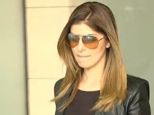 Andressa Mendonça paga fiança de R$ 100 mil, em Goiás (Foto: Reprodução TV Anhanguera)
