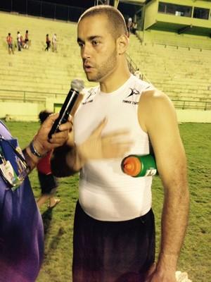 Giuliano goleiro Uberaba Sport (Foto: Felipe Santos)