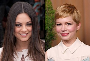 Mila Kunis e Michelle Williams (Foto: Getty Images / Reuters)