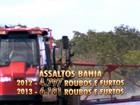 Assaltos frequentes em áreas rurais espalham o medo no oeste da Bahia