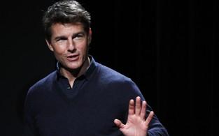 Tom Cruise na coletiva de imprensa de 'Jack Reacher' em Tóquio, no Japão (Foto: Issei Kato/ Reuters/ Agência)
