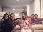 Romário reúne quase todos os filhos no Dia dos Pais