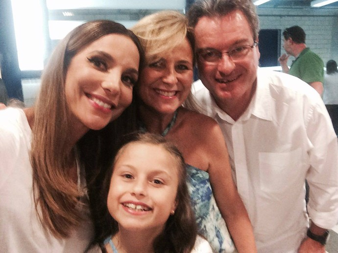 Rafa Gomes Ivete Sangalo The Voice Kids (Foto: Arquivo pessoal)