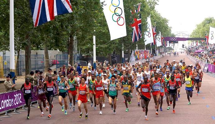 maratona Olimpíadas Londres (Foto: Reuters)