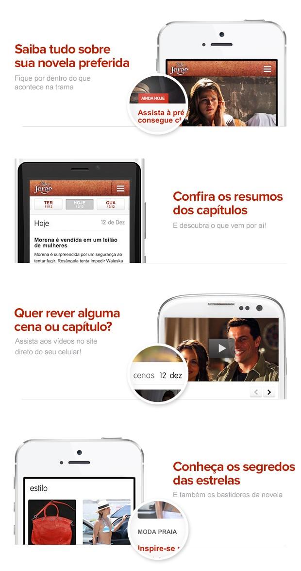 Mobile Salve Jorge (Foto: Salve Jorge/TV Globo)