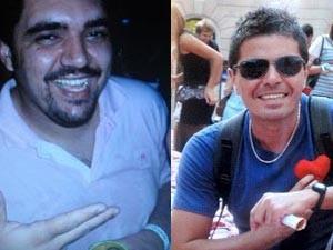 Vinicius Rosado, à esquerda e Eduardo Furkini, a direita (Foto: Arte/G1)