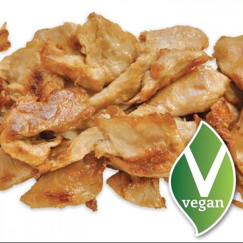 """O """"frango"""" é o carro chefe da loja. Uma porção de 160 gramas é vendida por 3,69 euros (Foto: Divulgação)"""