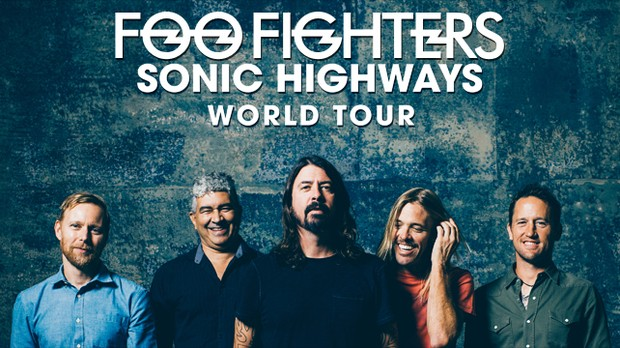 Foo Fighters World Tour (Foto: Divulgao)