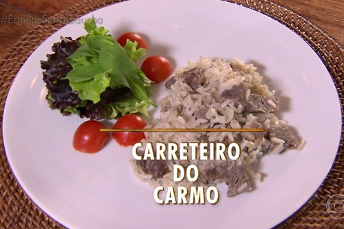Arroz Carreteiro do Carmo Dalla Vecchia