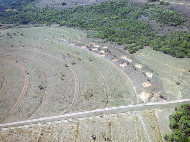 Vazão do Rio Uberaba caiu de 590 para 460 litros por segundo. (Foto: Codau/ Divulgação)