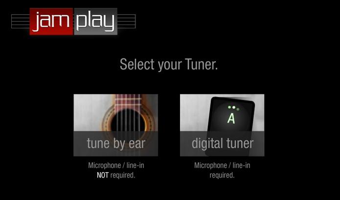 Escolha entre o afinador manual ou digital  (Foto: Reprodução/André Sugai)