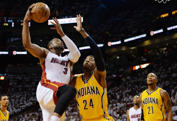 Dwyane Wade Indiana Pacers x Miami Heat (Foto: Reuters)