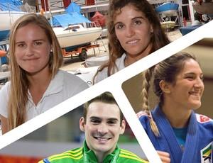 Carrossel atletas olímpicos