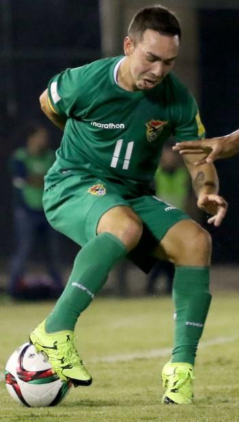 Paulo Da Silva Damian Lizio Bolivia x Paraguai (Foto: EFE)