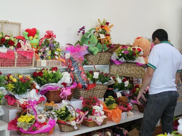 Floricultura, em Manaus (Foto: Tiago Melo/G1 AM)