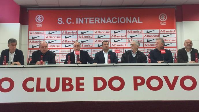 Celso Roht nova direção Inter (Foto: Tomás Hammes/GloboEsporte.com)