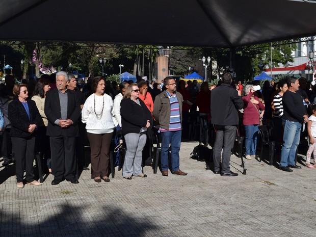 Familiares de 45 ex-combatentes de 32 receberam homenagens póstumas em Piracicaba  (Foto: Rafael Bitencourt)