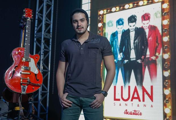 "Luan Santana: ""Rezava para namorar a Sandy"""