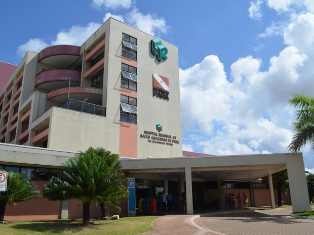 Hospital Regional de Santarém é referência para mais de 1,1 milhão de pessoas dos 20 municípios do oeste do Pará (Foto: Geovane Brito/G1)