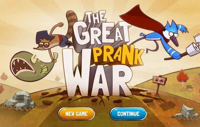 Tela inicial do The Great Prank War (Foto: Divulgação)