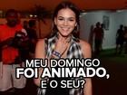 Bruna Marquezine é atração à parte no Rock in Rio; confira a noite da atriz