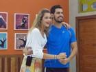 Ana Beatriz sobre tanta dedicação: 'Meu namorado diz que só durmo e danço!'