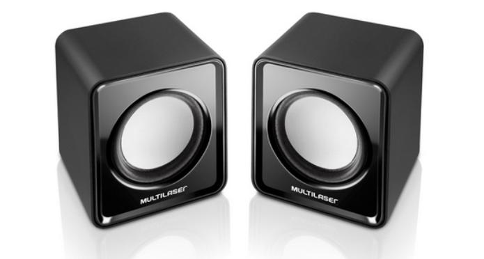 As caixas de som Multilaser custam um pouco mais de 20 reais (Foto: Reprodução/PortInfo) (Foto: As caixas de som Multilaser custam um pouco mais de 20 reais (Foto: Reprodução/PortInfo))