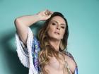 Núbia Óliiver faz auto-análise: 'Melhor a cada ano, no corpo e na sexualidade'