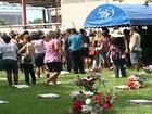 Vítimas de acidente no Sul da Bahia são enterradas no ES