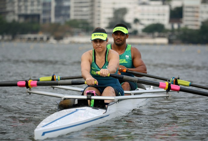 remo Michel Gomes e Josiane Lima (Foto: Fernando Maia / Mpix / CPB)