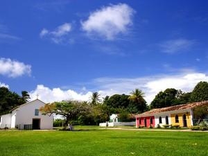 Cidade Histórica em Porto Seguro, na Bahia (Foto: Divulgação/ Prefeitura dePorto Seguro)